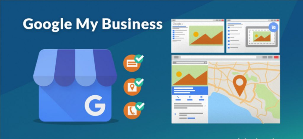 google my business illustration