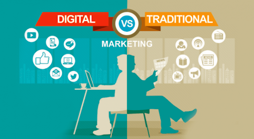 digital marketing vs traditional adverising